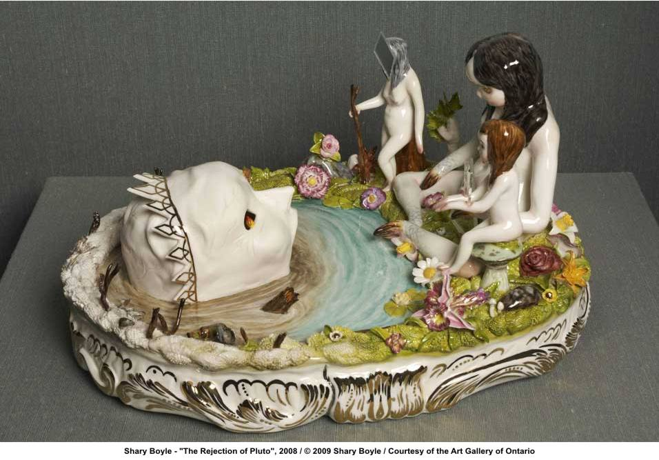 Classical mythology revisited: the shrewd ecofeminism of Shary Boyle. (5/6)