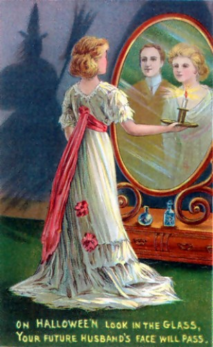 Hallowe'en Night divination game. (3/3)