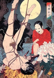 An illustration by Takato Yamamoto, a contemporary Japanese devotee of