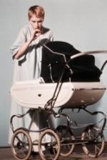 "Mia Farrow in a publicity shot for Roman Polanski's ""Rosemary's Baby"" (1968)."