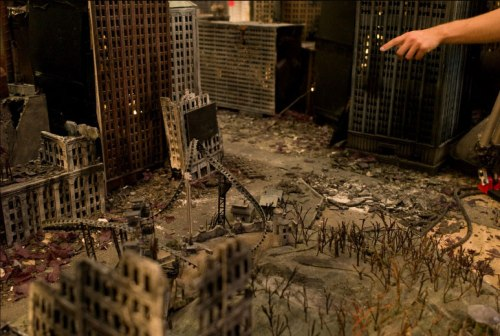 A post-apocalyptic Manhattan, as envisioned by two artists from Sweden.