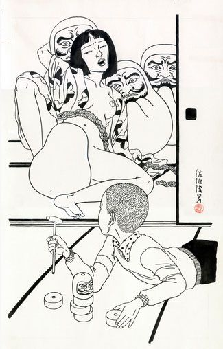 The Erotic-Grotesque Art of Toshio Saeki. (3/6)