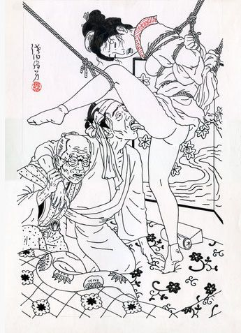 The Erotic-Grotesque Art of Toshio Saeki. (1/6)