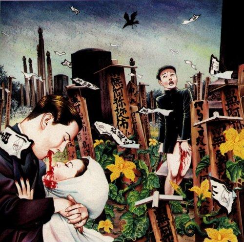 Image by a contemporary ero guro-inspired Japanese artist, Suehiro Maruo.