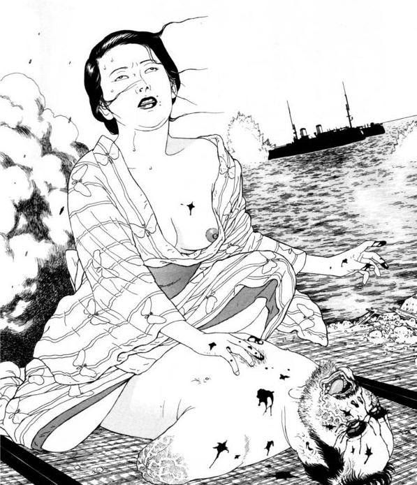 Deviant Desires: Erotic Grotesque Nonsense, part II. Edogawa Rampo. (5/6)